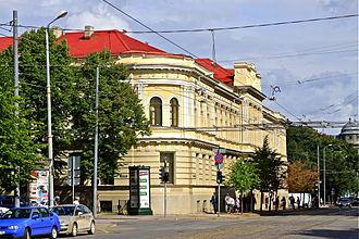 Jāzeps Vītols Latvian Academy of Music - Main building of the Academy
