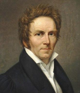 Johan Ludwig Lund - Self-portrait, 1827