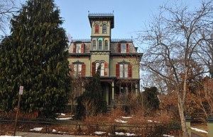 National Register of Historic Places listings in Warren County, New Jersey - Image: JACOB C. ALLEN HOUSE, HACKETTSTOWN, WARREN COUNTY