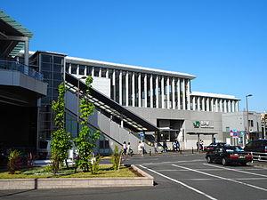 JR站区生田绿地口(2015年5月5日)
