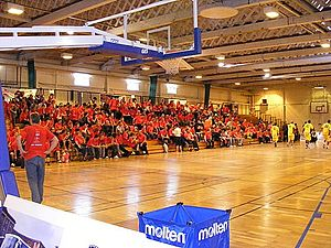 Leicester Riders - John Sanfdord Sport Centre, former home of the Leicester Riders.