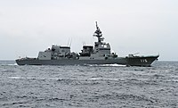 JS Akizuki in the Sagami Bay during the SDF Fleet Review 2012, -14 Oct. 2012 a.jpg