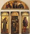 Jacopo, gentile e giovanni bellini, polittico della natività, da s.m. della carità, 1464-70 ca., 01.JPG