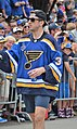Jake Allen during the 2019 St Louis Blues Stanley Cup Parade.jpg