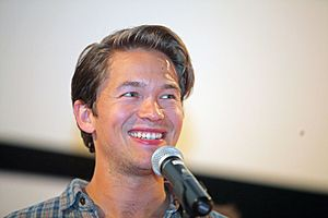 Jakob Oftebro - Oftebro at the Karlovy Vary International Filmfestival in July 2015