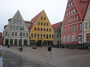 Urban design - Jakriborg in Sweden, started in the late 1990s as a new urbanist eco-friendly new town near Malmö