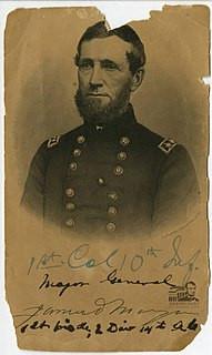 James D. Morgan American merchant sailor, soldier, businessman, and a Union General during the American Civil War
