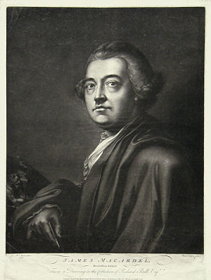 James MacArdell - James MacArdell, 1771 mezzzotint by Richard Earlom after a self-portrait drawing.