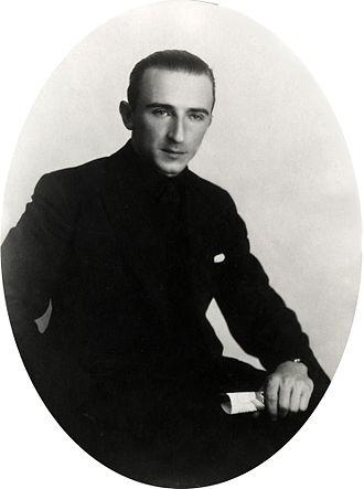 Jan Baars - Jan Baars in 1931