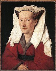 Jan van Eyck: Portrait of Margareta van Eyck