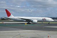 JA708J - B772 - Japan Airlines