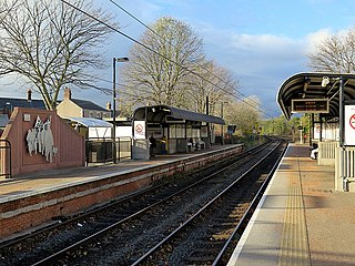 Jarrow Metro station Tyne and Wear Metro station in South Tyneside