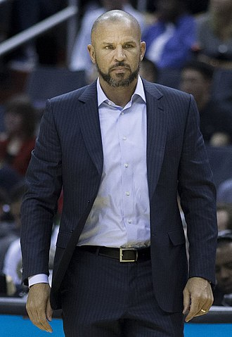 Jason Kidd - Kidd as the Nets' head coach in March 2014