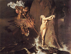 Jean-Auguste-Dominique Ingres: Roger délivrant Angélique