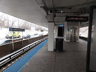 Jefferson Park Transit Center - Image: Jefferson Park Station