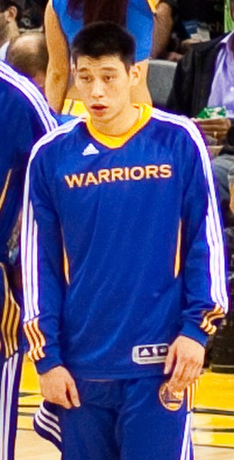 Jeremy Lin - Lin prior to a game in 2010