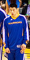 Jeremy Lin in Warriors line up pregame vs Pistons 1.jpg