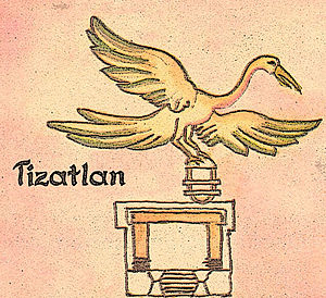 Tizatlan - Glyph for Tizatlan