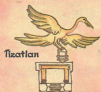 Tlaxcala (Nahua state) - Image: Jeroglificode Tizatlan