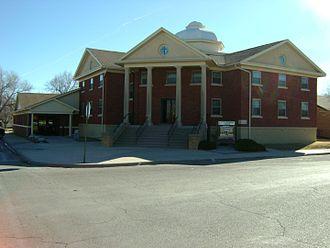Jetmore, Kansas - United Methodist Church in Jetmore (2010)