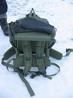 Backpack wikipedia for Ice fishing seat