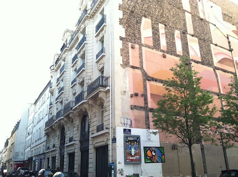 Jim Morrison%27s Apartment Building in Les Marais, Paris, France - 17%E2%80%9319 rue Beautreillis 3.jpg