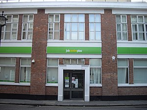 English: Job Centre Plus Chadwick Street