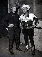 Joe Bowman and Roy Rogers Houston