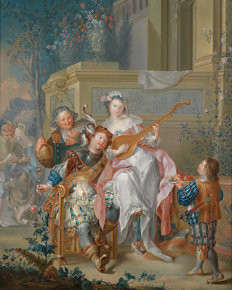 Johann Georg Platzer - Musikgesellschaft im Freien.jpg