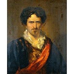 Junius Brutus Booth as Sir Edward Mortimer