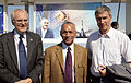John Beyrle, Charles Bolden and Sergei Krikalev.jpg