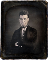 Abolitionist John Brown in Springfield in 1846