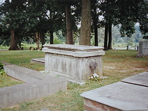 John Cadwalader (general) - Gen. John Cadwalader's grave at Shrewsbury Chapel