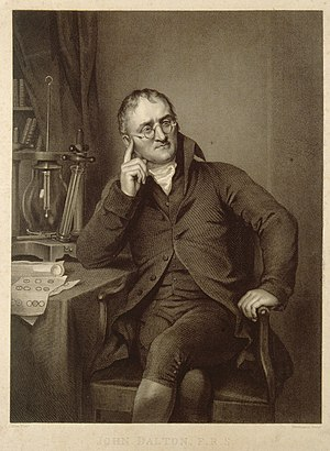 John Dalton. Line engraving by W. H. Worthington, 1823, afte Wellcome V0006489.jpg