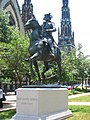 John Eager Howard statue, Mount Vernon Place, Baltimore, MD.jpg
