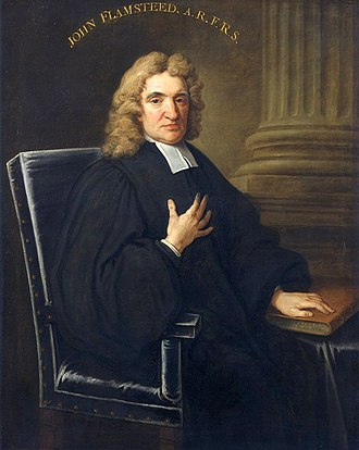 Astronomer Royal - John Flamsteed