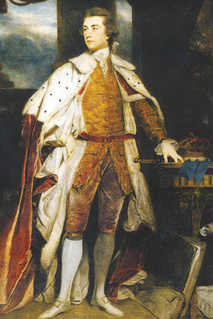 John Sackville, 3rd Duke of Dorset only son of Lord John Philip Sackville, second son of Lionel Sackville, 1st Duke of Dorset