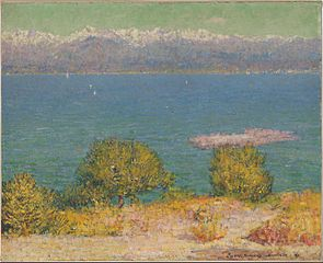Landscape, Antibes (The Bay of Nice)