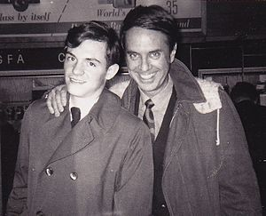 John Zacherle - John Zacherle with an appreciative acolyte, New York City, 1968