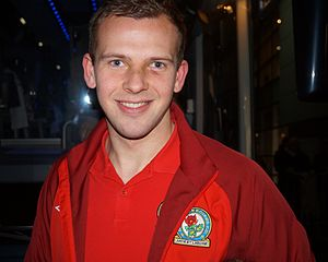 Jordan Rhodes - Rhodes with Blackburn Rovers in 2013