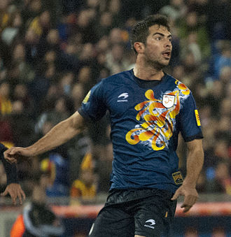 Jordi Amat - Amat playing for Catalonia in 2013