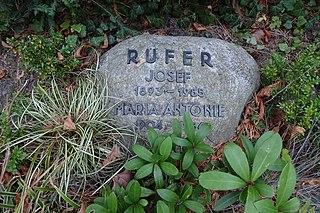 Josef Rufer Austrian musicologist