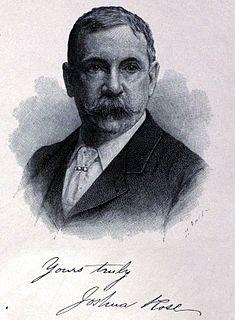 Joshua Rose (engineer) American engineer, inventor and journalist