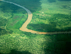 The Juba River downstream from Jamame.