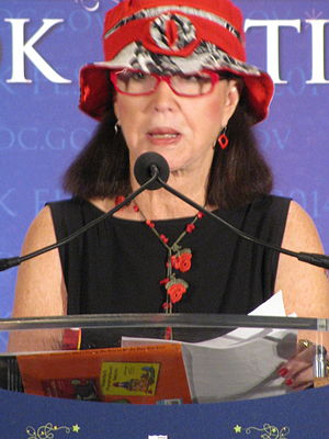 Judith Viorst - Viorst at a National Book Festival reading, August 2014