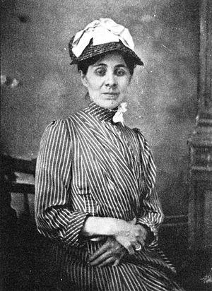 Juliette Peirce - Juliette Peirce in 1883, the year she married Charles