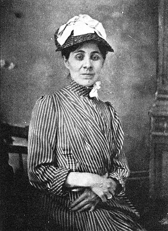 Juliette Peirce - Juliette Peirce in 1883, the year she married Charles