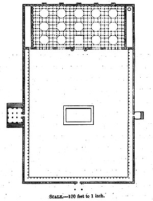 Jama Mosque, Ahmedabad - Plan of the mosque