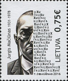 George Maciunas Lithuanian artist