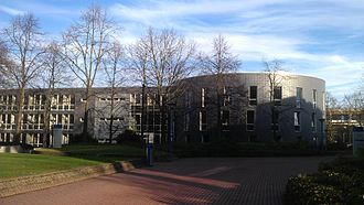 University of Düsseldorf - Building of the Faculty of Law: the Juridicum.
